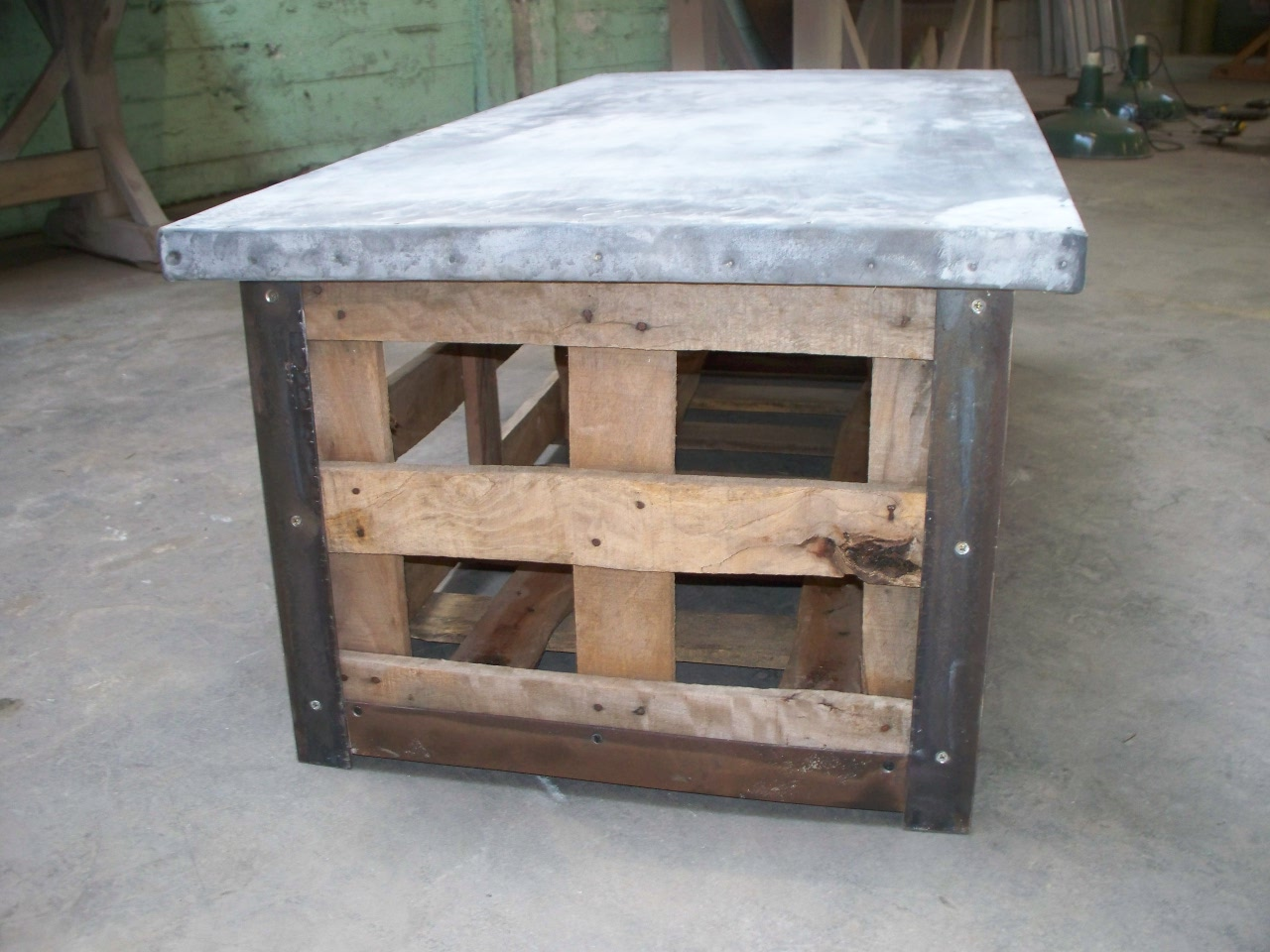 shipping crate coffee table | davelennard